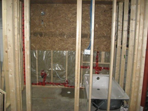 framing and structural support