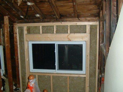 window framed