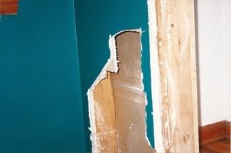 closet demolition