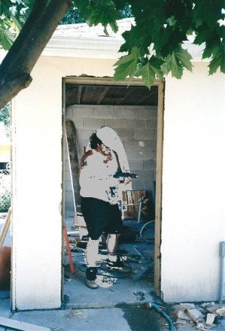 installing the door frame