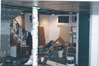 "Basement Renovation: A diary of the ""Home Stretch"""