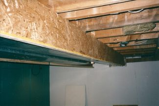 covering ducts in basement