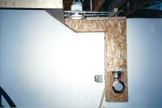 hiding plumbing