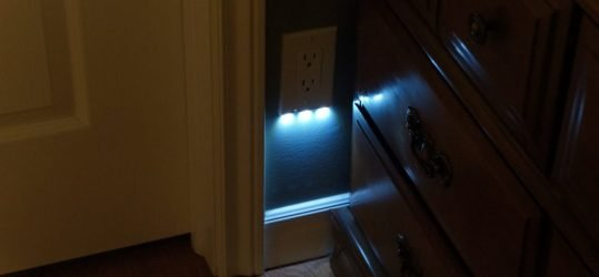 Review of SnapRay Guidelights:  The Nightlight reinvented