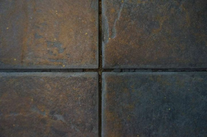 crumbling grout
