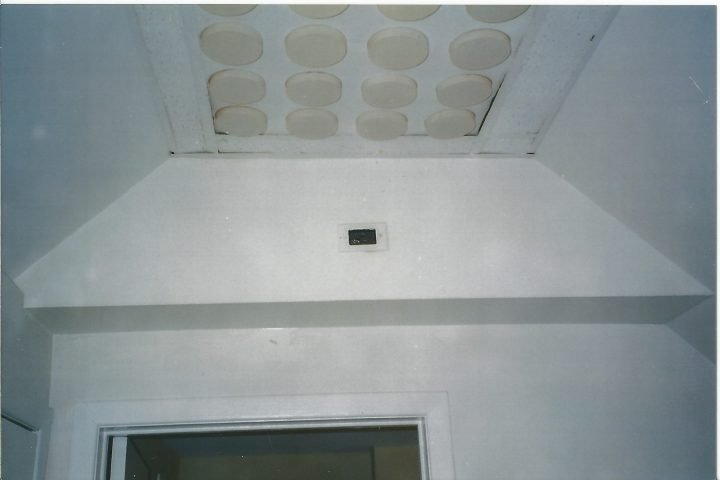 Unique ceiling light panel