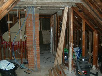The Attic Renovation: Removing the Chimney