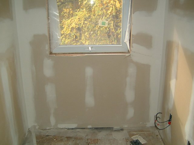 drywall and mud
