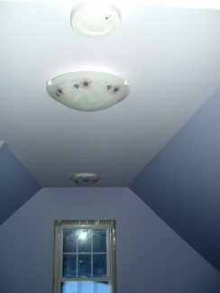 The Attic Renovation: Lighting and Heating
