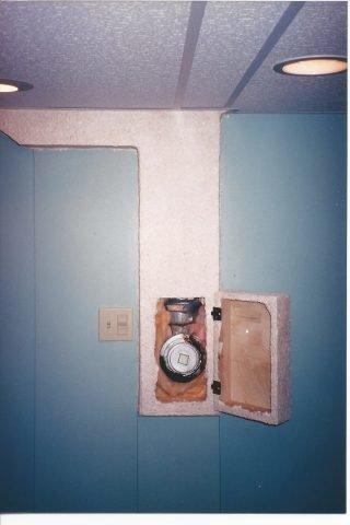 drain cover open