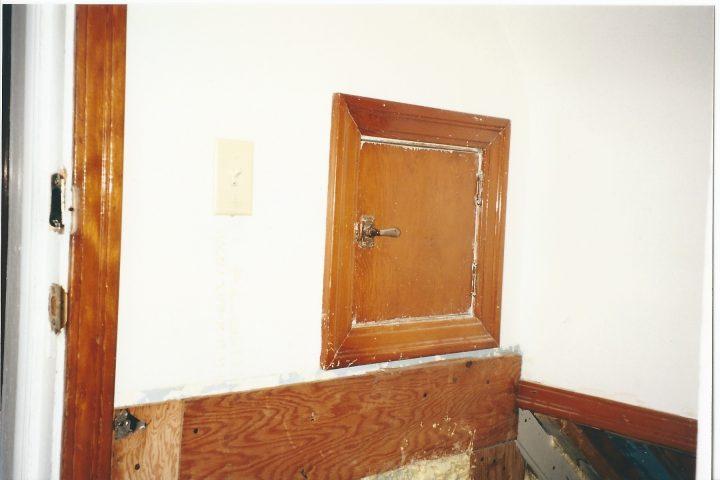 milk chute door
