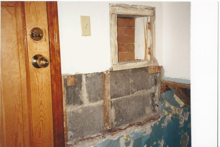 milk chute door removed