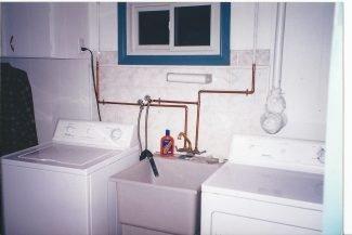 The Basement Renovation: The Laundry Room