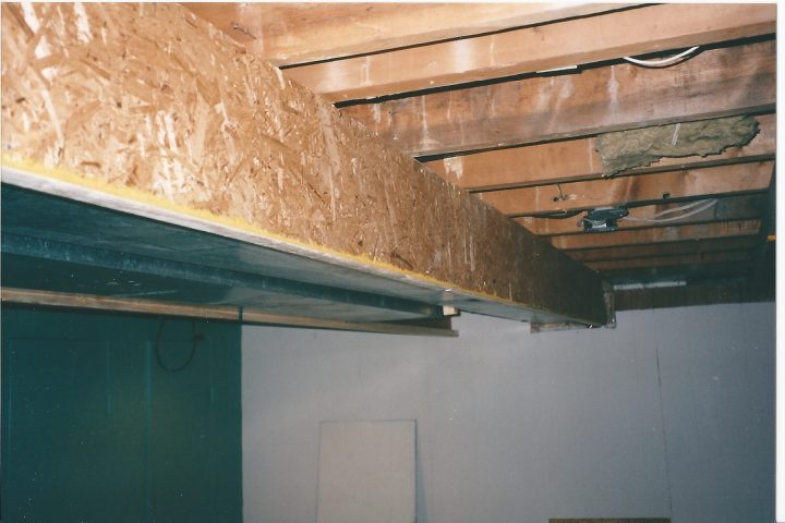 enclosing ductwork