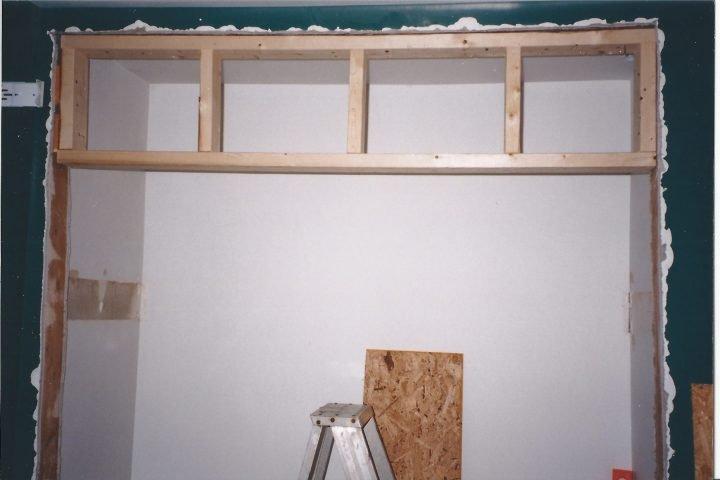closet rough opening