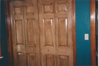 Widening a Closet Door