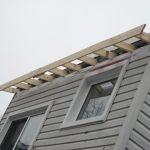 Adding ventilation and fixing leaks in back dormer