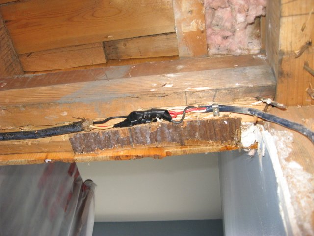 bad wiring
