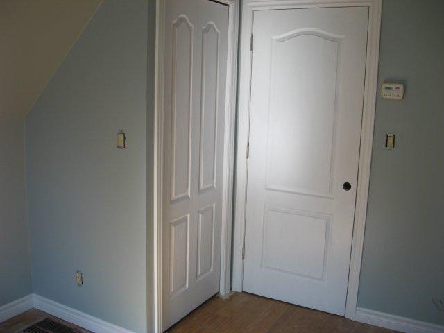 closet and entry door